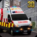 도시 구급차 의료진 구조