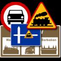 Znaki drogowe na prawo jazdy