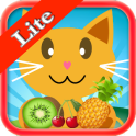 QCat - 7 일 유치원 교육 게임 : 과일 (무료)