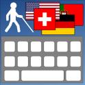 Barrierefreie Blinde Tastatur
