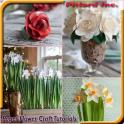 फूल कागज शिल्प ट्यूटोरियल