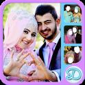 Hijab Wedding Couple