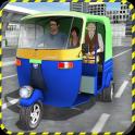 Tuk Tuk Auto Rickshaw Driving