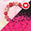 Fun Color Rose Live Wallpaper