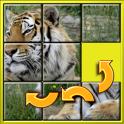Животных слайд головоломки