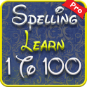 1 to 100 number spelling learning app for kids Pro