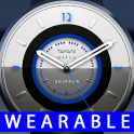 Skipper wear watch face