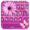 Pink Color Keyboard Themes