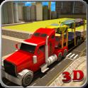 Cargo Truck Transporter 3D