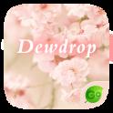 Dewdrop GO Keyboard Theme
