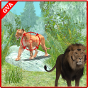 Wild Forest Lion Hunting