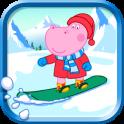 Crianças Jogos de Inverno