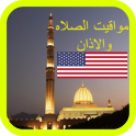 Adhan Prayer Times in USA