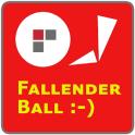 Fallender Ball