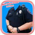 Men Police Dress Suit New