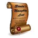 Santa's Naughty List App & Certificates