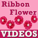 Ribbon Flower Craft Making