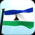 Lesotho Flag 3D Free Wallpaper
