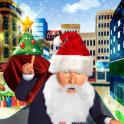 Santa Trump Run