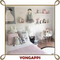 Beautiful Girls Bedroom Decoration Idea
