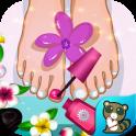 Girl's Foot Spa Salon