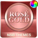 Rosé Gold theme for Xperia