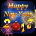 Happy New Year 2017 3D Theme