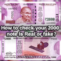How To Check New 2000 Note Fake