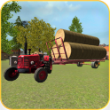 Classic Tractor 3D: Hay