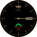 Lathom Gold Style Android Wear Watch Face