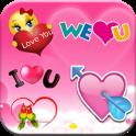 Valentine's Love Stickers