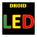 Droid LED Scroller Text