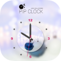 PIP Clock Live wallpaper