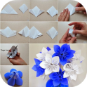 Origami Flower Tutorials