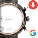 Search button for Wear OS (e.g. ZenWatch 3)