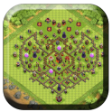 Town Hall 10 Trophy Base Maps