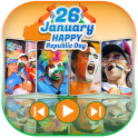 Republic Day Video Maker