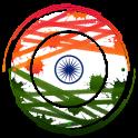 Indian flag clock