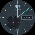 Lathom Nova Grey Android Wear Watch Face