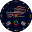 Lathom America Style Android Wear Watch Face