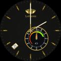 Lathom Elegant Black Android Wear Watch Face