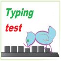 Typing speed test