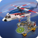 Offshore Oil Helicopter Cargo