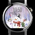 Snowman ⛄ Free Watch Face