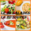 20 SALADES 20 SOUPES