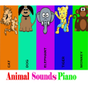Animal Sounds piano for kids