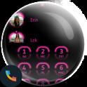 Neon Pink Contact Dialer Theme