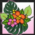 Libro para colorear de flores