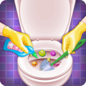 Bathroom Cleaning-Toilet Games