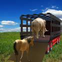 wild livestock & animals transport offload Truck